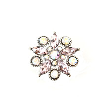 AURORA BOREALIS DIAMOND CLUSTER SNAP JEWEL
