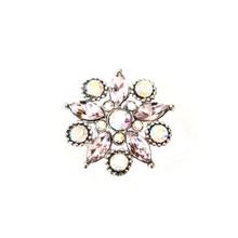 AURORA BOREALIS DIAMOND CLUSTER SNAP JEWEL