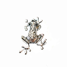 JUMPING JEWELLED FROG SNAP JEWEL