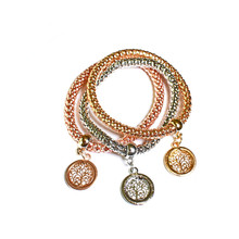 STRETCH MESH TREE OF LIFE BRACELET SET