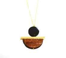 GEOWOOD PERFECT BALANCE NECKLACE