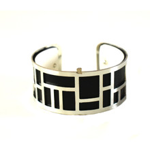 INTERCHANGEABLE CUFF - SILVER LABYRINTH