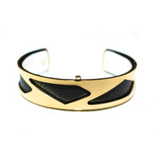HALF INCH INTERCHANGEABLE CUFF - BLACK PARIS