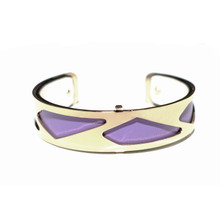 HALF INCH INTERCHANGEABLE CUFF - PURPLE PARIS