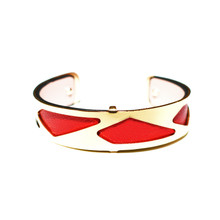 HALF INCH INTERCHANGEABLE CUFF - WINE PARIS