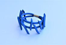 NEO PUNK BLUE BRACELET