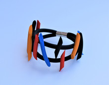 NEO PUNK MULTI-COLOR BRACELET
