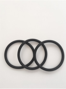 NEO SINGLE BLACK BRACELET (SET OF THREE)