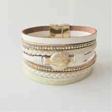 MAGNETIC LEATHER - LACEY