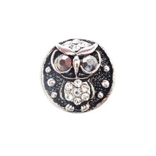 CRYSTAL OWL SNAP JEWEL