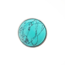 TURQUOISE GEMSTONE SNAP JEWEL