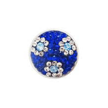 COBALT DAISY JEWELLED SNAP JEWEL