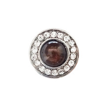 DIAMOND TIGER EYE SNAP JEWEL