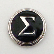 GREEK SIGMA SNAP JEWEL