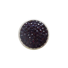 BLACK JEWELLED SNAP JEWEL