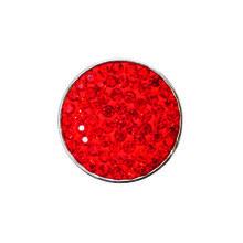 GRAND RED JEWELLED SNAP JEWEL