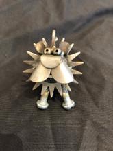 Handcrafted Found Art  Gear Lion  2 x 3 x 2
