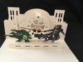 3D Pop up Cards Kirigami  Star Wars Darth Vader and Yoda