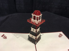 3D Pop up Cards Kirigami  Light House