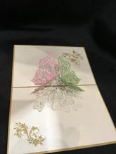 Butterfly 1 Handmade 3D Kirigami Card