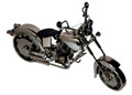 HANDCRAFTED FOUND ART MOTORCYCLE II L 15 H 8 1/2 W 4 3/4 FREE SHIPPING HARLEY DAVIDSON MOTORCYCLE