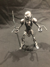 HANDCRAFTED FOUND ART    Predator Long Sword  5 x 5 x 3