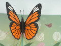 Handmade 3D Kirigami Card  with envelope  Monarch Butterfly