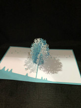 Snowflake1 Handmade 3D Kirigami Card