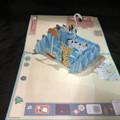 Cats Handmade 3D Kirigami Card