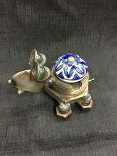 Cabinet Knob Frog Handcrafted Found Art