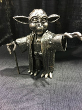 Yoda Handcrafted Found Art