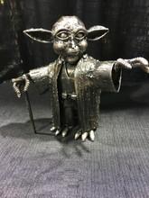Yoda Handcrafted Found Art