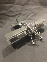 HANDCRAFTED FOUND ART   AIRPLANE    10 x 3 x 1 1/2