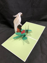 3D Pop Up Card Handcrafted Kirigami Mccaw