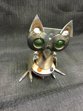 Cabinet Knob Owl Handcrafted Found Art