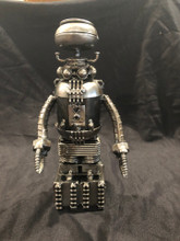 "Lost in Space Robot B9 Size: 10""H x 5""D x 5""W  Weight: 2.5 lbs"