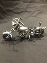 HANDCRAFTED FOUND ART   MOTORCYCLE VI   7 1/2 x 4 x 2 1/2