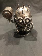 Handcrafted Found Art  Hammer Minion  5 x 4 x 4