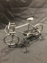 HANDCRAFTED FOUND ART  BIKE V  7 1/2 x 4 1/2 x 3