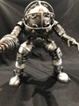 "Handcrafted Found Art  Big Daddy from Bioshock  Size: 10.5""H x 6""D x 8.5""W  Weight: 6.0 lbs Positions may vary"