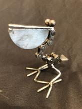 Handcrafted Found Art  Pelican  4x1.5x2.5