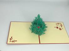 Handmade 3D Kirigami Card  with envelope  Christmas Tree
