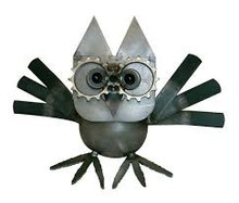 HANDCRAFTED FOUND ART   Owl 3