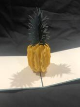 Handmade 3D Kirigami Card  Pineapple