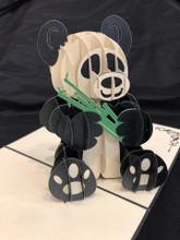 Handmade 3D Kirigami Card  Panda Styles May Vary