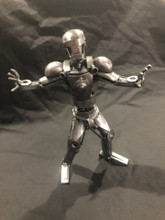 HANDCRAFTED FOUND ART   Iron Man  8 x 6 x 3