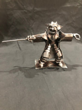 Handcrafted Found Art  Small Yoda  Star Wars  8 x 3  x 5