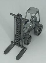 Handcrafted Found Art  Forklift  4 x 3 x 3