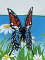 Handmade 3D Kirigami Card  with envelope  Butteflies Butterfly