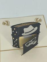Handmade 3D Kirigami Card  with envelope  Lighter